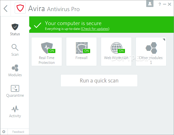 Avira Antivirus Pro 15.0.2007.1903 Crack With Serial Key 2020