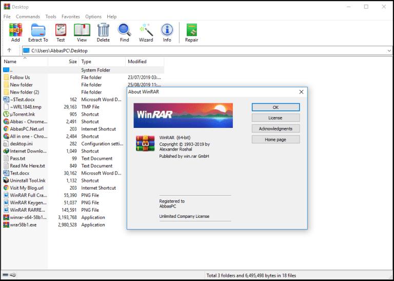 WinRAR 5.91 Crack + Keygen Latest Version (x86x64) 2020