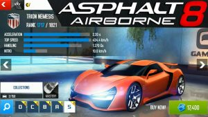 Asphalt 8 Airborne APK MOD Data for Android + PC Free Update